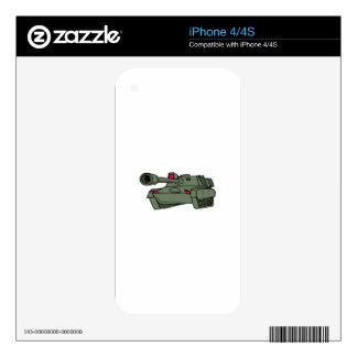 ARMY TANK SKINS FOR iPhone 4