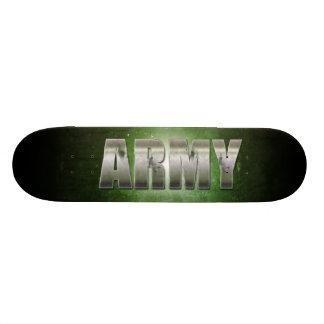 Army Text Skateboard