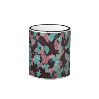 Army Themed Ringer Coffee Mug