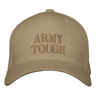 a086318d4ab ARMY TOUGH Custom Embroidered Baseball Hat