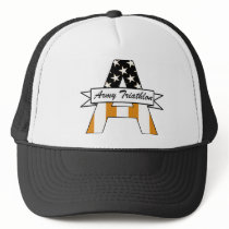 Army Triathlon Trucker Hat