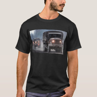 Army Truck Convoy T-Shirt