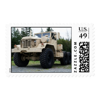 Army Truck M818 Postage Stamp