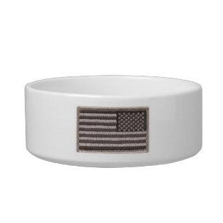 Army Uniform U S Flag UCP Color Cat Bowl