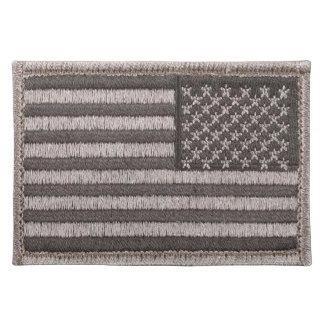 Army Uniform U.S. Flag (UCP Color) Placemat Cloth Place Mat