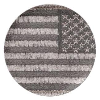 Army Uniform U.S. Flag (UCP Color) Plate