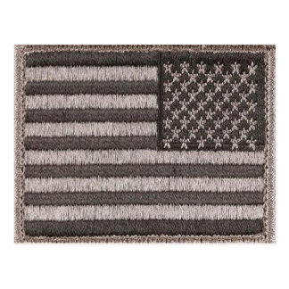 Army Uniform U.S. Flag (UCP Color) Postcard