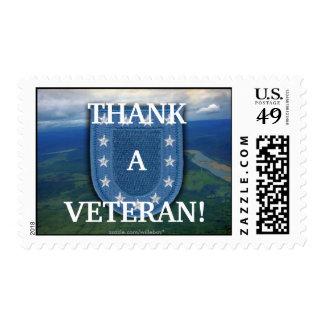 army units flash postal stamp