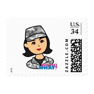 Army Urban Camo Head Medium Stamps