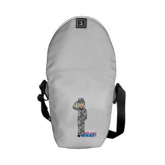 Army Urban Camo Light Blonde Messenger Bag