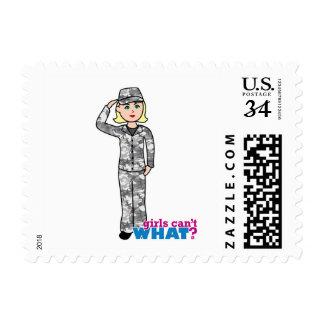 Army Urban Camo Light Blonde Stamp