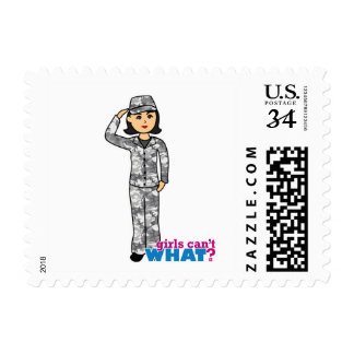 Army Urban Camo Medium Stamp