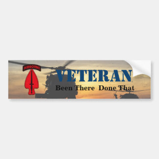 Army USASOC Special Ops Veterans Vets LRRPS Bumper Sticker