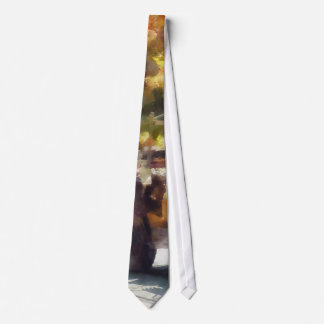 Army Vehicle in Parade Neck Tie