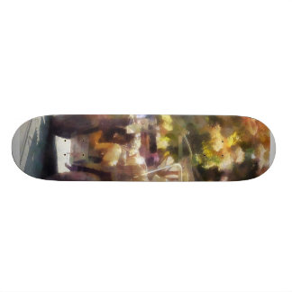 Army Vehicle in Parade Skate Board Deck