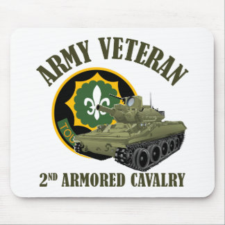 Army Veteran - 2nd ACR M551 Mouse Pad