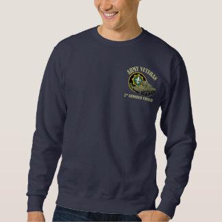 Army Veteran - 2nd ACR M551 Pullover Sweatshirt