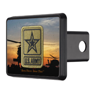 Army Veterans Infantry Airborne Rangers LRRP Recon Tow Hitch Cover