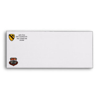 army vets 1st cavalry air cav iraq envelope