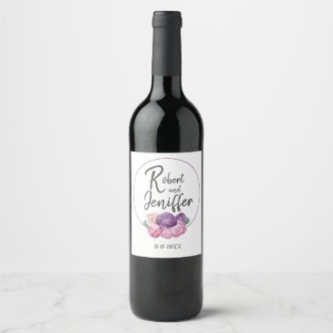 Wedding Themed Army wedding themed wine label