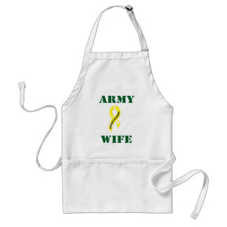 Army Wife 987 Adult Apron