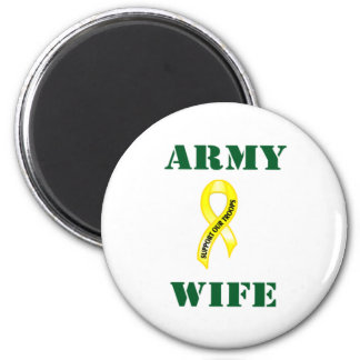 Army Wife 987 Magnet