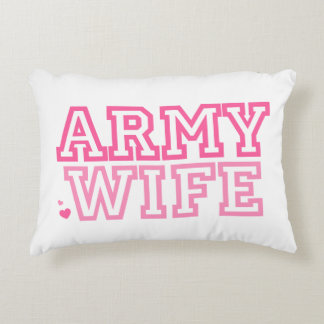 Army Wife Accent Pillow