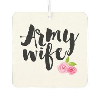 Army Wife Air Freshener