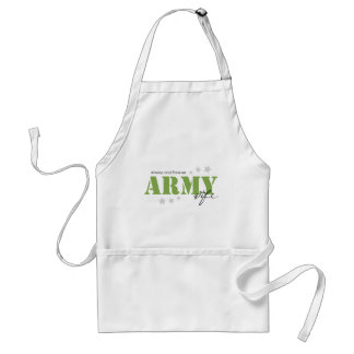 Army Wife - Always and Forever Adult Apron