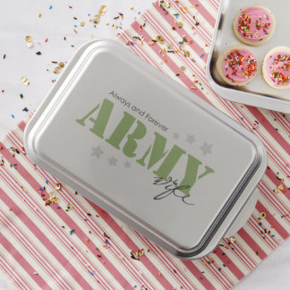 Army Wife - Always and Forever Cake Pan
