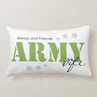 Army Wife - Always and Forever Lumbar Pillow