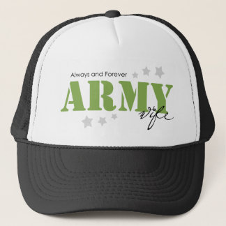 Army Wife - Always and Forever Trucker Hat