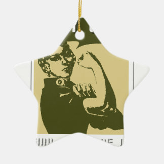 ARMY WIFE AND PROUD OF IT CERAMIC ORNAMENT
