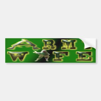 Army Wife Bumper Sticker Car Bumper Sticker