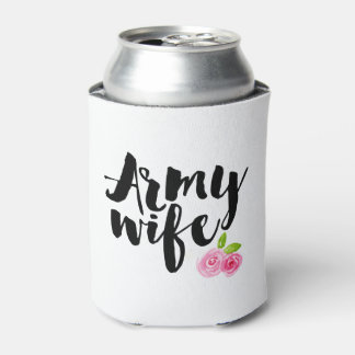 Army Wife Can Cooler
