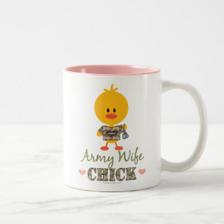 Army Wife Chick Mug
