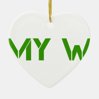army-wife-clean-green.png ceramic ornament