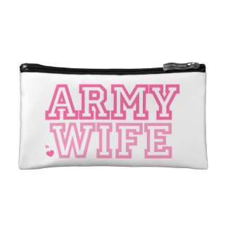 Army Wife Cosmetic Bag