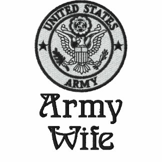 Army Wife Embroidered Jacket