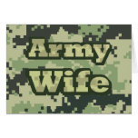 Army Wife Greeting Cards