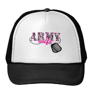 Army Wife Mesh Hat