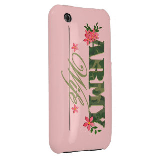 Army Wife iPhone 3 Case-Mate Case