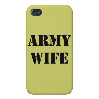 Army Wife iPhone 4/4S Cases