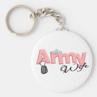 Army Wife Keychain