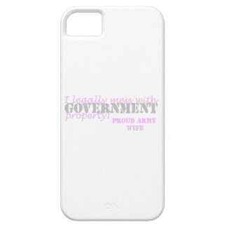 Army Wife Legally Mess iPhone SE/5/5s Case