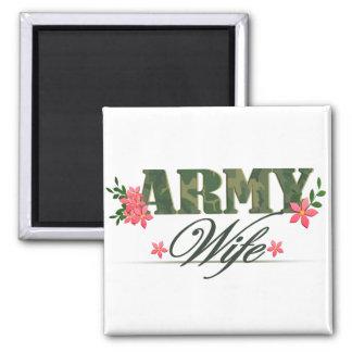 Army Wife Fridge Magnet