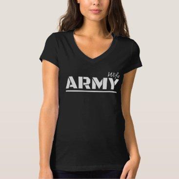 Army wife military wife shirt