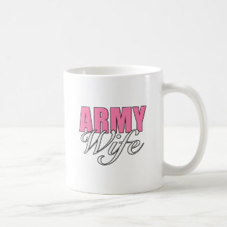 Army Wife Classic White Coffee Mug