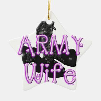 Army Wife Ornament