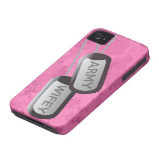 Army Wife Pink Camo iPhone Case